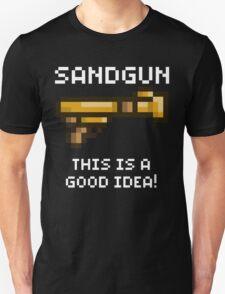 Sandgun (Terraria White Font) T-Shirt