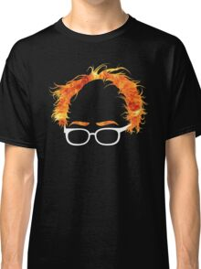 Flaming Bernie Shirt - #Feelthebern Classic T-Shirt