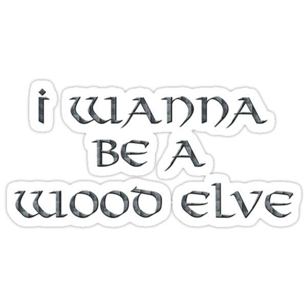 Wood Elves Text Only by Miltossavvides