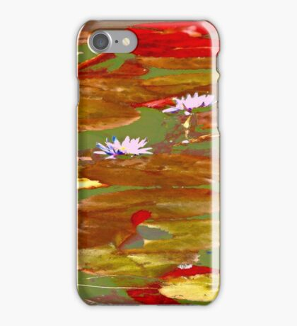 Water Lilies #1a iPhone Case/Skin