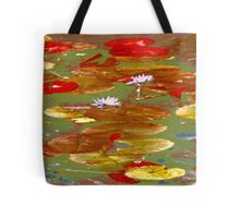 Water Lilies #1a Tote Bag