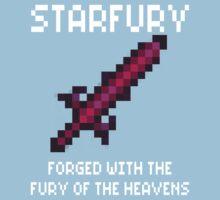Starfury (Terraria White Font) One Piece - Short Sleeve