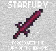 Starfury (Terraria White Font) Kids Clothes