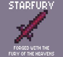 Starfury (Terraria White Font) Kids Tee