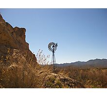 No Wind Mill Photographic Print