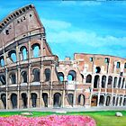 The Coliseum, Rome by Teresa Dominici