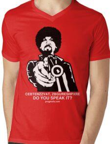 "ProgMofo, ""Optimized"" Edition Mens V-Neck T-Shirt"
