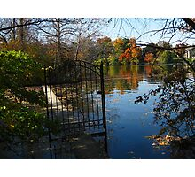 Water Gate Photographic Print