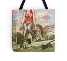 Too Big For This Town Tote Bag