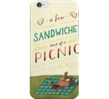 A Few Sandwiches… iPhone Case/Skin