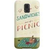 A Few Sandwiches… Samsung Galaxy Case/Skin