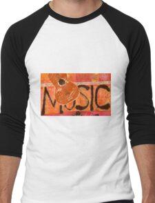 We Just Love Music T-Shirt Men's Baseball ¾ T-Shirt