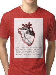 Venus in Furs Lyrics Tri-blend T-Shirt