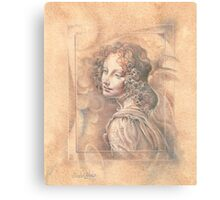 Da Vinci`s Angel Canvas Print