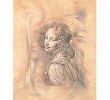 Da Vinci`s Angel Photographic Print