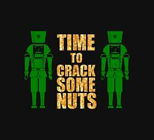 CRACKING NUTS Womens Fitted T-Shirt