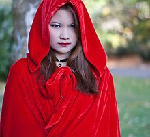 Red riding hood 3 by PHILIP GARDNER
