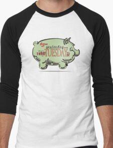 Pig in a Poke Men's Baseball ¾ T-Shirt