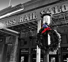 Brass Rail XMas, Virgina City by Bob Moore