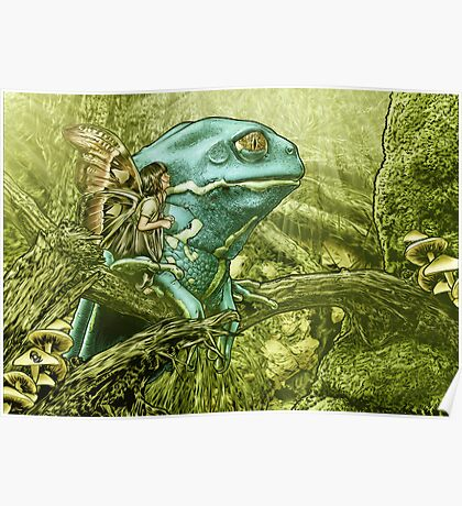 My Big Blue Buddy Poster