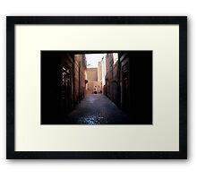 Mother and Son in Morocco Framed Print