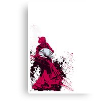 Techno Flamenco - Chill Out. WhiteNoise Canvas Print