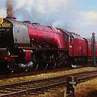 Stanier pacific on Shap by Mike Jeffries