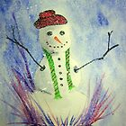 Snowman by Debbie  Adams