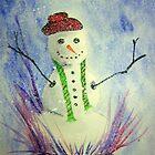 Snowman by Debbie  Adams