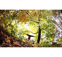Handstand at Central Park,  Park, New York Photographic Print