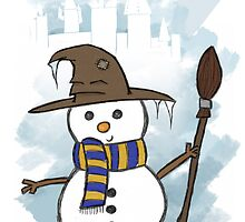 Ravenclaw Christmas Card  by Jess Nixon
