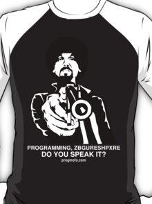 """ProgMofo, """"Less Optimized"""" Edition T-Shirt"""