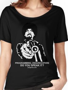 """ProgMofo, """"Less Optimized"""" Edition Women's Relaxed Fit T-Shirt"""