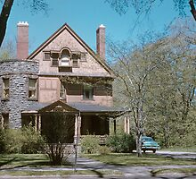 Old home Rochester NY 195705050009 by Fred Mitchell