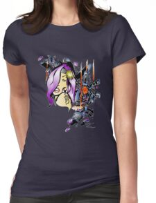 KMachine Girl Womens Fitted T-Shirt