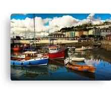Irish harbor Canvas Print
