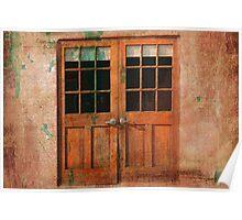 Barn Doors Poster