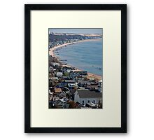 Provincetown On Cape Cod Framed Print