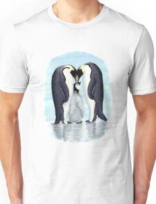 family of penguins Unisex T-Shirt