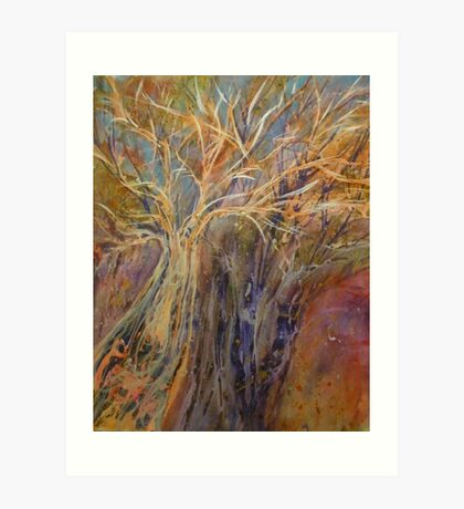 Ancient Trees Art Print