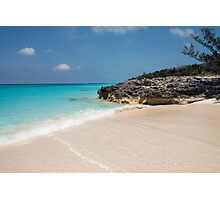 Beach on Rose Island, Bahamas Photographic Print