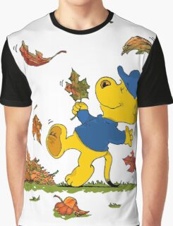 Ferald Dancing Amongst The Autumn Leaves Graphic T-Shirt