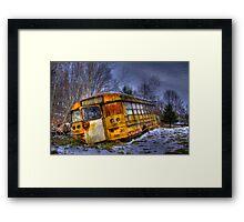 School Bus 23 Framed Print