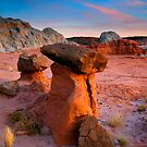 Brokentop Hoodoo Sunset by DawsonImages