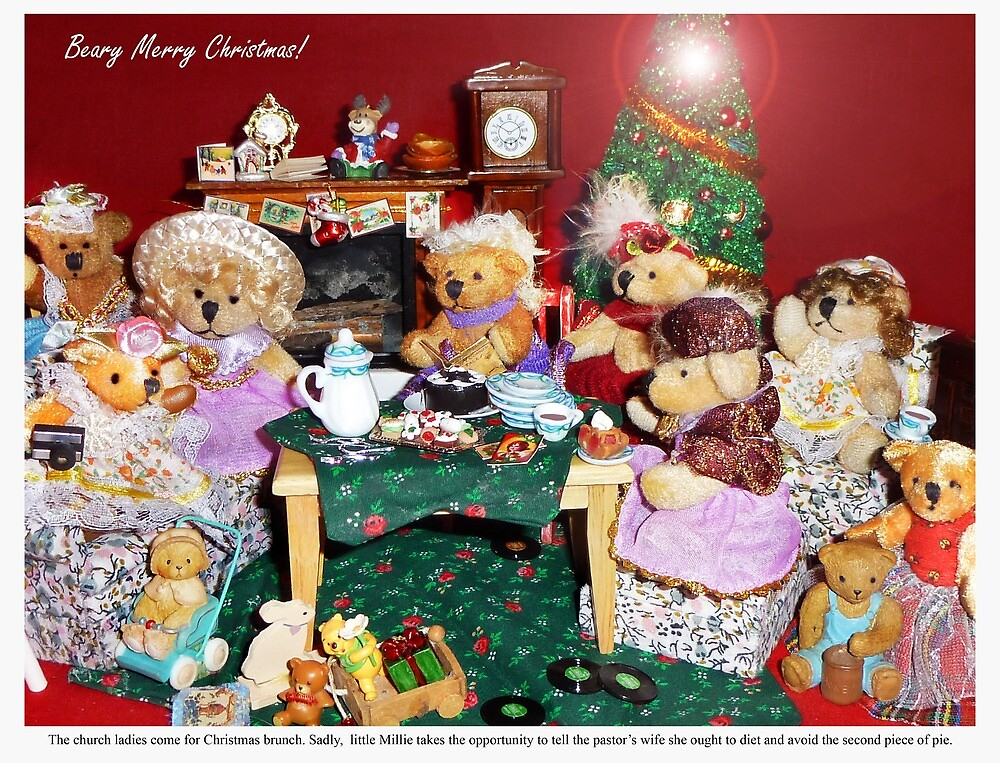 The Church Ladies Come to Christmas Brunch by Nadya Johnson