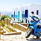Streets of Mykonos by slexii