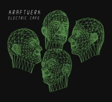 Electric Cafe Green Print by Bradley John Holland
