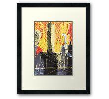 Industrial location Framed Print
