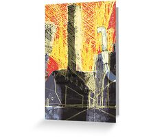 Industrial location Greeting Card