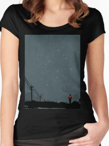 The Road Women's Fitted Scoop T-Shirt